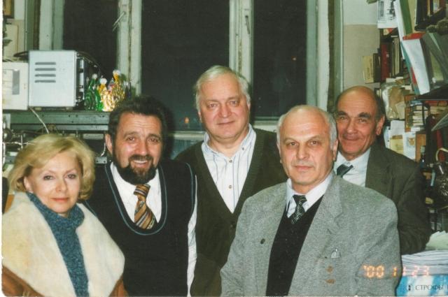 В институе органической химии имени Н.Д. Зелинского