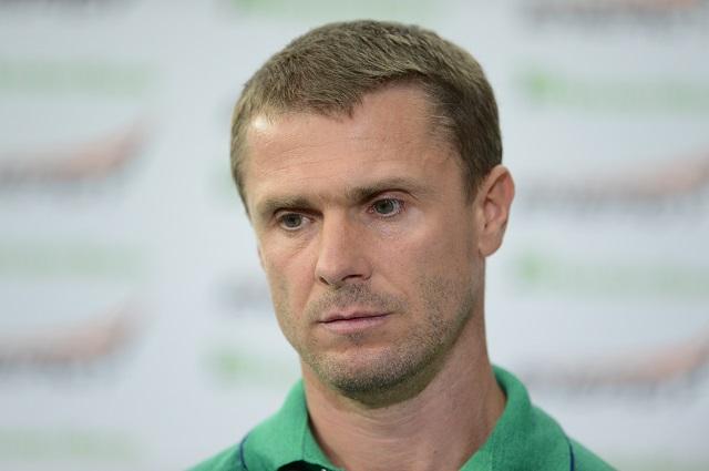 Сергей Ребров.