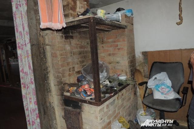 В домах в Ухановке печное отопление.