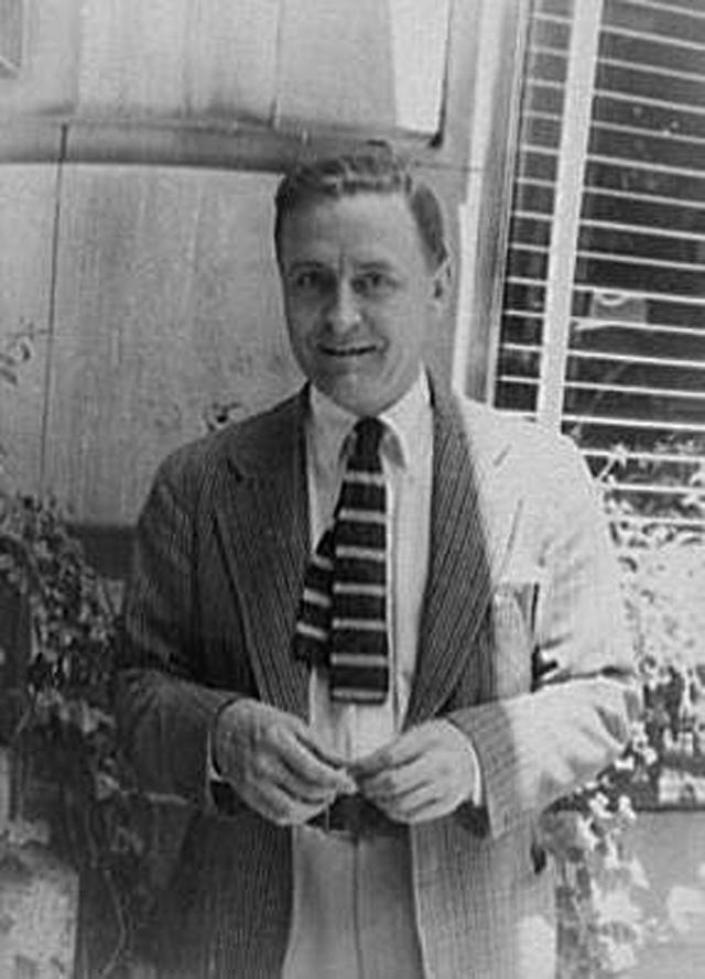 Фрэнсис Скотт Фицджеральд. 1937 год.