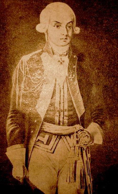 Н. Н. Раевский — командир Нижегородского драгунского полка. 1790-е гг.