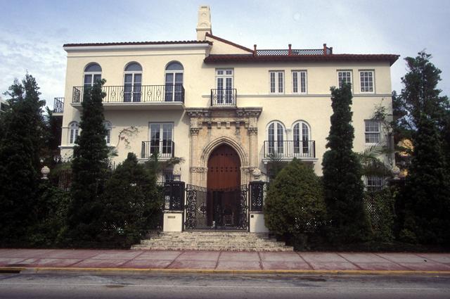 Дом Джанни Версаче на Оушн Драйв.