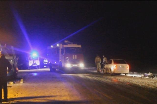 Авария на трассе в Косихинском районе