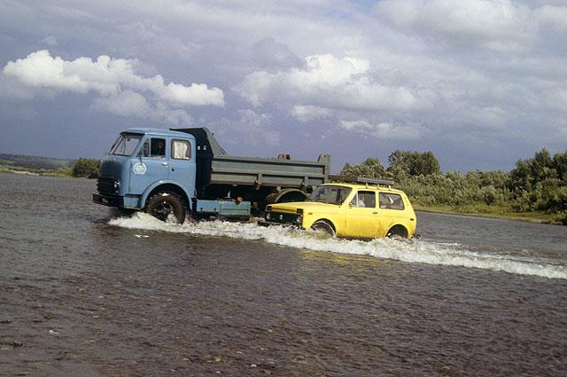 Внедорожник ВАЗ-2121 «Нива» наиспытаниях вСибири.