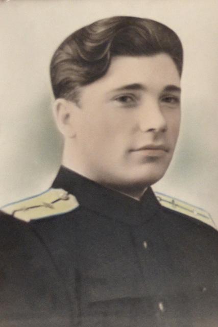 Юрий Озол в молодости.