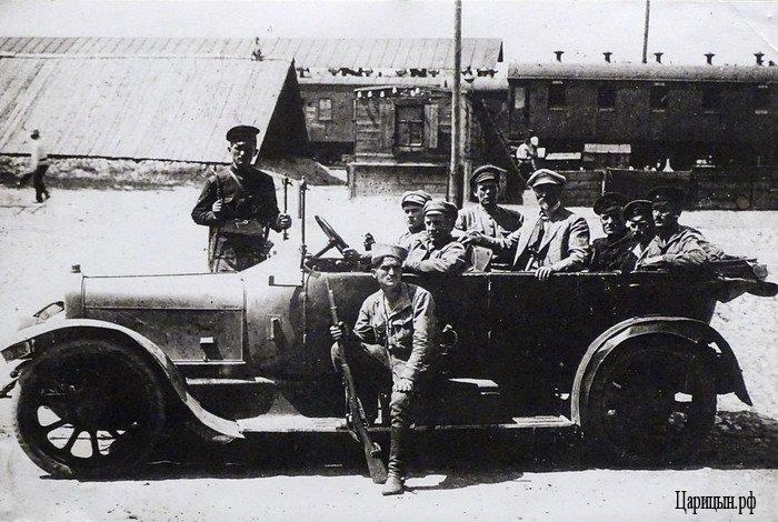 Первое фото автомобиля в Царицыне