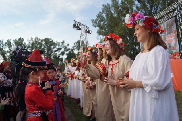 Фестиваль в Шушенском проходит уже в 14-й раз.