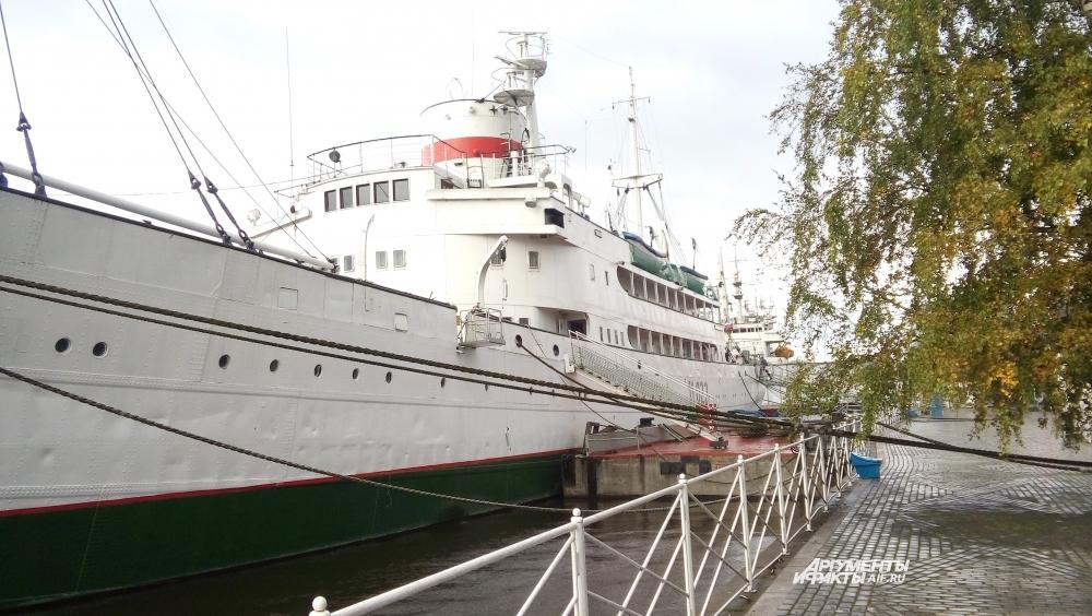 Витязь - самое крупное научно-исследовательское судно мира.