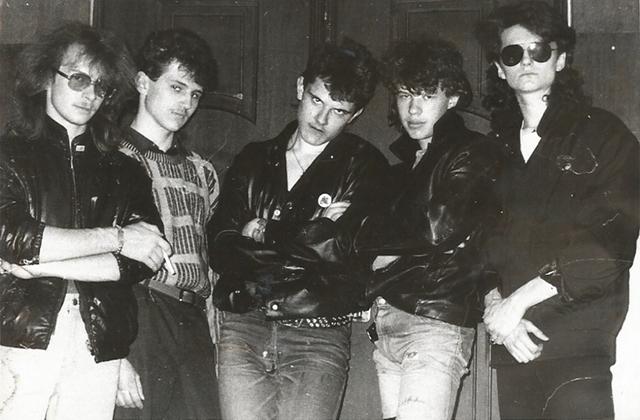 «Firetower»: первый состав группы