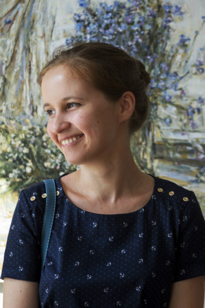 Виктория Агафонова, организатор фримаркетов