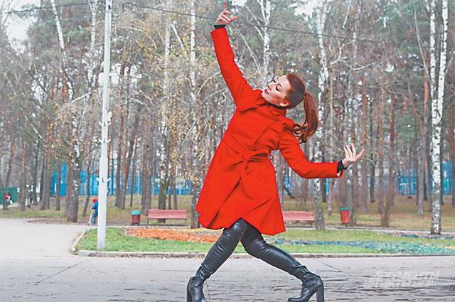 Впарке «Сосенки», сохранившем свою аутентичность, Софья любит гулять, продумывая новые движения для постановок.