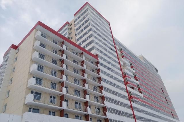 Дом на ул. Пушкарской, 142 могут сдать уже в первом полугодии 2021 г.