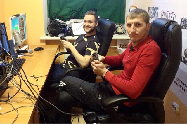 Кастинг для геймеров проходит в специально оборудованной студии.