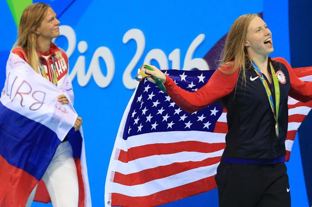 Юлия Ефимова и американка Кинг.