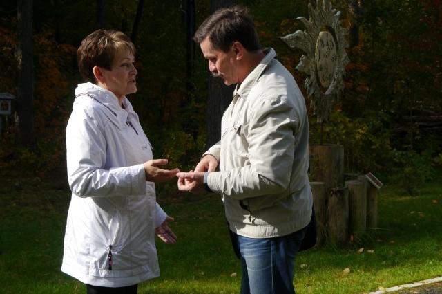 Валентина Кочетыгова и Яков Яковлев