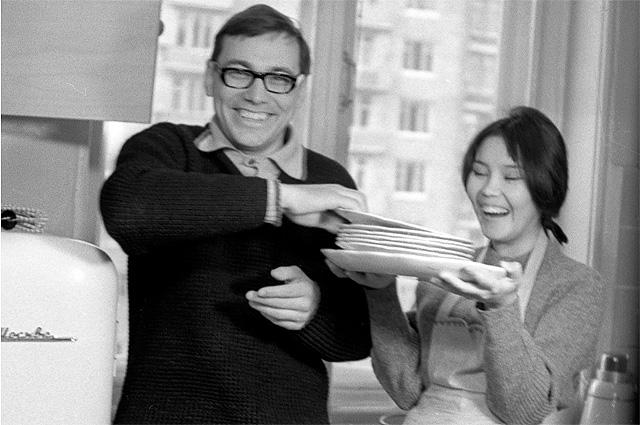 Наталья Аринбасарова и Андрей Михалков-Кончаловский