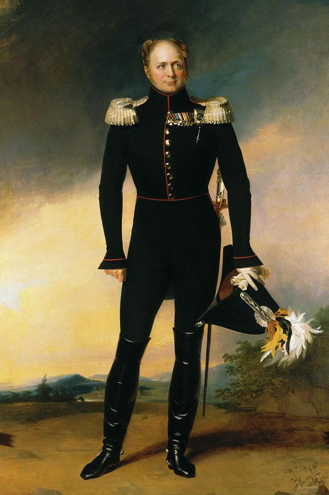 Портрет Царя Освободителя кисти Джорджа Дэйва