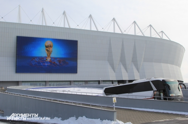 В Ростове-на-Дону состоятся пять матчей ЧМ-2018.