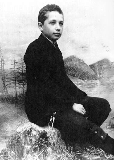 Эйнштейн в 14 лет