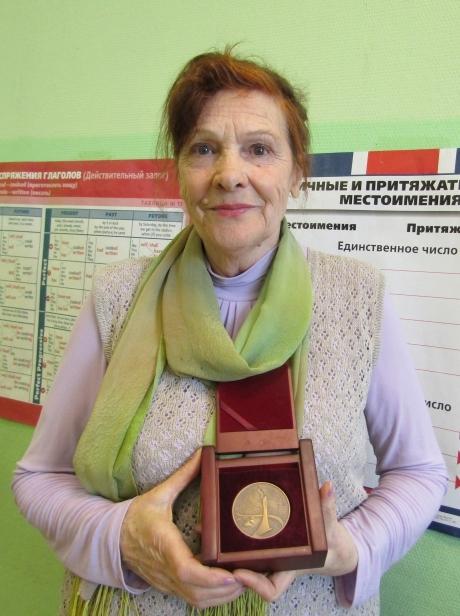 Волонтёр Лариса Лагунова из Твери
