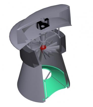 Цифровая модель энергетической волновой установки
