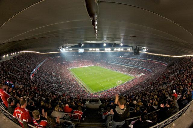 Альянц Арена домашний стадион Баварии