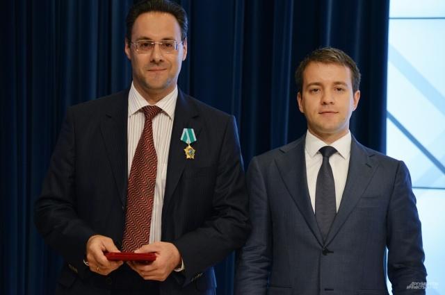 Ответственный секретарь газеты Евгений Факторович