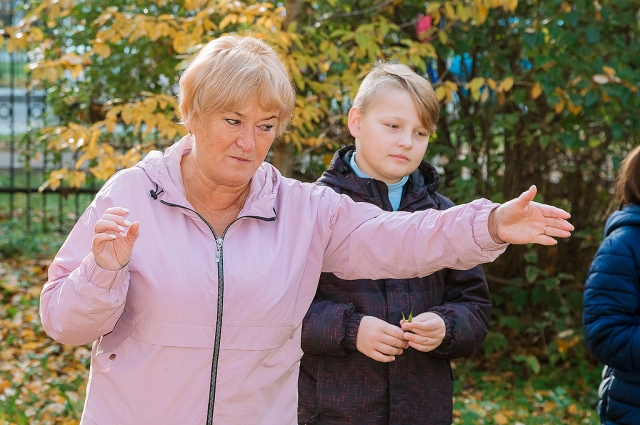 Учительница Валентина Буравлёва старается сделать уроки максимально интересными и полезными.
