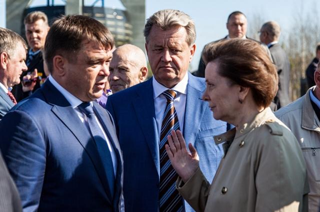 Василий Тихонов и Наталья Комарова в Нижневартовске
