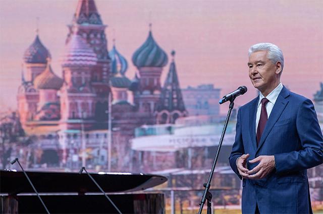 Мэр Собянин: «Я благодарю москвичей – за их трудолюбие, талант и любовь к столице».