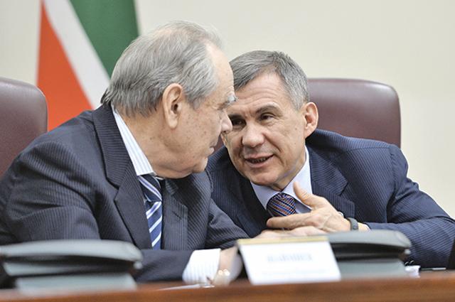 Рустам Минниханов и Минтимер Шаймиев