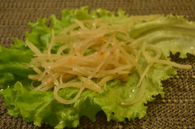 Корейская картошка