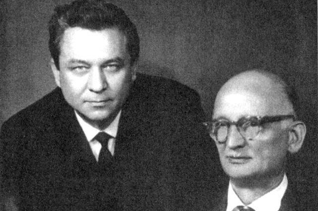 Конон Молодый и Рудольф Абель.