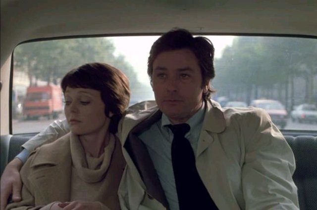 Появление в фильме Алена Делона буквально свело с ума зрителей.