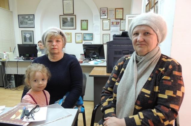 Ирина Филатова (слева) и Валентина Князева.