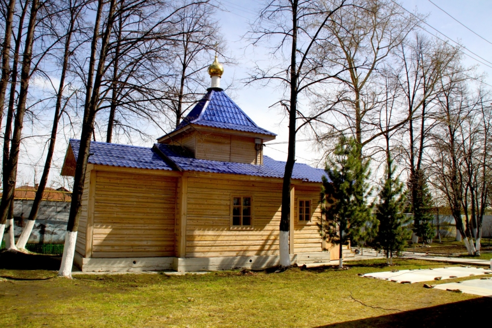 Храм на территории реабилитационного центра на Изоплите.