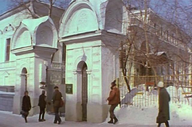 Съёмки проходят в усадьбе, в которой действительно с 1920-х до 1990-х гг. располагался детский садик.
