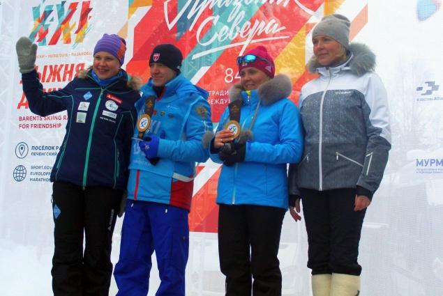 В Раякоски приехала двукратная олимпийская чемпионка, наша землячка Анна Богалий.