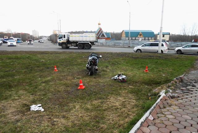ДТП, мотоциклист