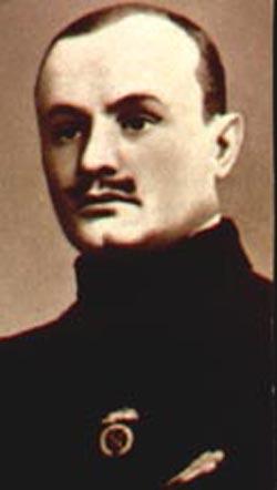 Николай Панин-Коломенкин на Олимпийских играх 1908 года.