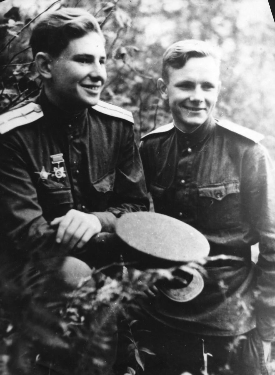 Иван Гулькин с Иваном Антипиным