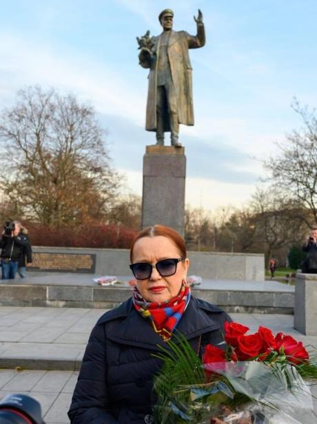 Внучка маршала Ивана Конева - Елена Конева.