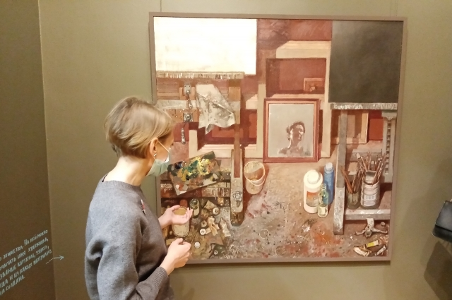 Какая она, мастерская, на самом деле – изображено на одноименном полотне Татьяны Нечиухиной.