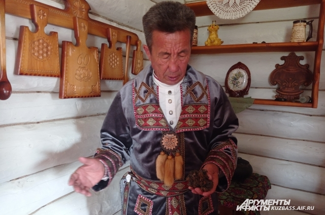 Юрий Кастораков выплавил первую крицу железа в мае 2021 года.