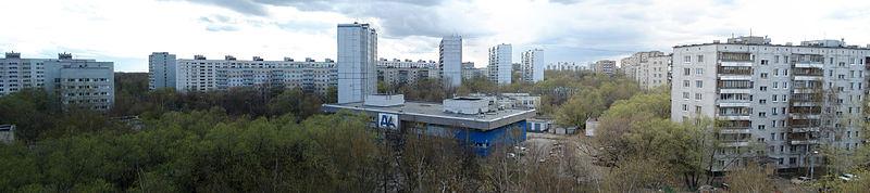 Панорама Сормовской улицы