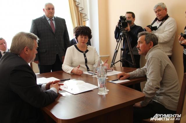 Василий Мормуль на приёме у губернатора рассказал о непростом положении пенсионеров в МПС