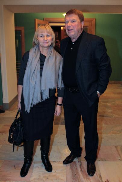 Актер Михаил Кокшенов с супругой Натальей