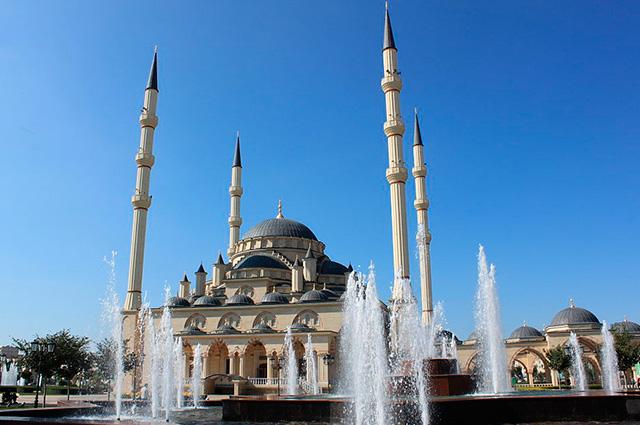 Мечеть «Сердце Чечни» имени Ахмата Кадырова