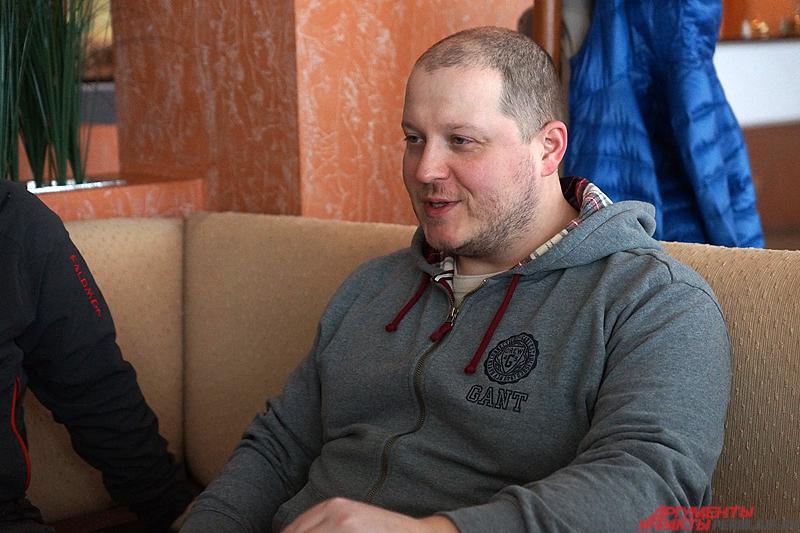 Режиссер фильма о космонавтах Дмитрий Киселёв.
