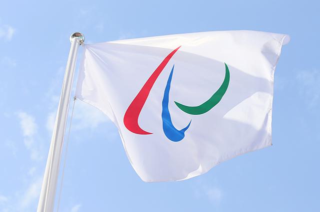 Паралимпийский флаг.
